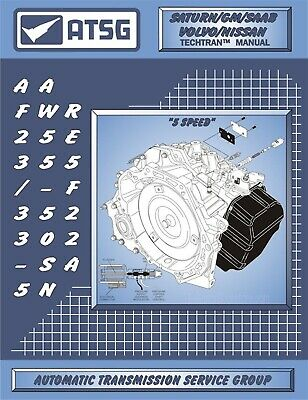 GM AW55-50/51SN / AF23/33-5 / RE5F22A Transmission Rebuild Manual