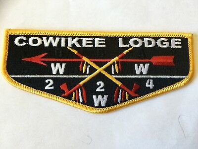 Cowikee Lodge 224 recent issue OA Flap SALE!!!