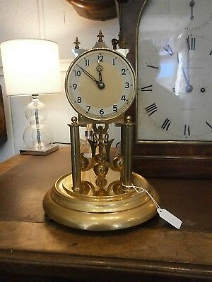 A Torsion Clock 400 Day Anniversary Kern & Sohne brass pendulum parts suspension