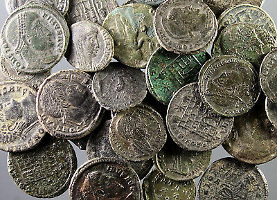 Bulk-Lot, 35 coins of Constantine the Great, some rare issues, minted 307-337 AD