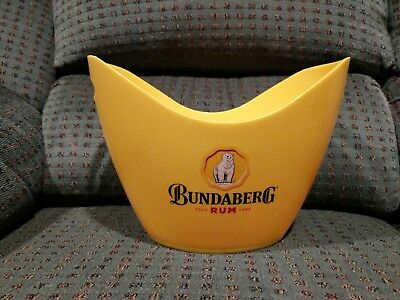 Bundaberg Rum Melamine Ice Bucket - Bundy Bear - Cooler Holder Cap