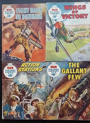 War Picture Library Issues #1, 2, 3, 4
