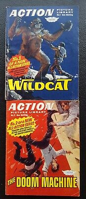 Action picture library Issues # 1 & 2