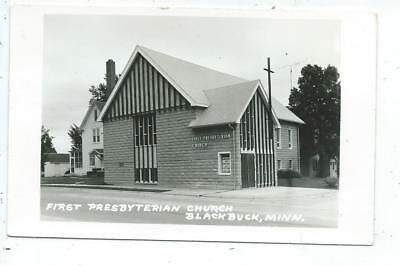 Blackduck MN Minnesota RPPC Postcard First Presbyterian Church