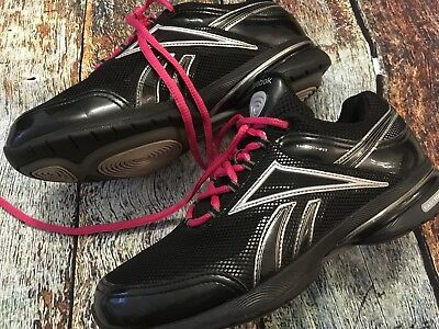 78c3f183df3f4c Reebok Easytone Smoothfit Athletic Shoes Women s Size 8 US 38.5 EU Black  Pink