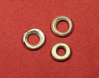 Lot of 3 Ancient Celtic Silver Ring Money - Protomoney