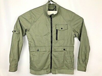 Comune Diego Trim Fit Oiled Canvas Jacket Utilitarian Style