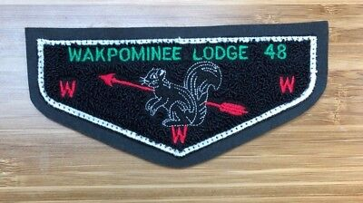 WAKPOMINEE 48 C2 Chenille Mohican Council New York 19