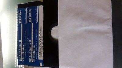 AGILENT GC MSD Vectra ChemStation software License Hp 3365 Series 2 G1202a