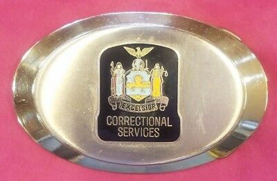 New York State Department Of Correctional Services Belt Buckle