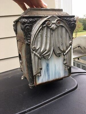 Antique Funeral Carriage Wagon Light