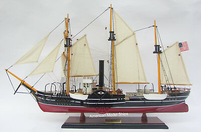 """USS Michigan United States Navy's Ship Model 32"""" HandCrafted Wooden Model NEW"""