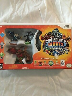 AcTiVision Wii Skylanders Giants Starter Pack - Great Shape But Used