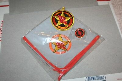 Oa Noac 2018 Security Staff Set Patch Neckerchief And Pin