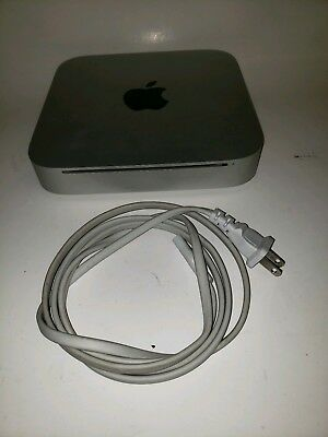 Apple 2010 Mac Mini 2.4GHz Core 2 Duo 320GB hard drive ,4GB Ram ,MC270LL/A