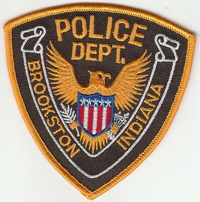 Brookston Indiana Police Department Patch In