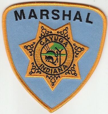 Cayuga Indiana Marshal Patch In