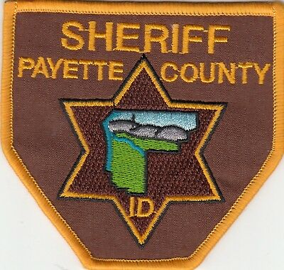 Payette County Sheriff Idaho Id Police Patch