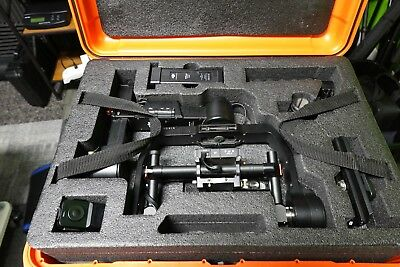 DJI Ronin-M 3-Axis Handheld Gimbal Stabilizer With Case and Thumb Controller