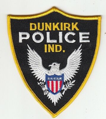Dunkirk Police Shoulder Patch Indiana In