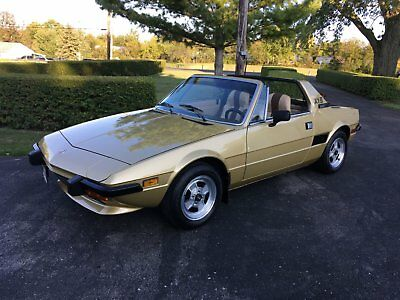 1978 Fiat Other  1978 Fiat X1/9   Sharp, great shape, and well-maintained.