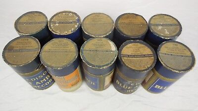 Edison Blue Amberol Records  -  Lot of 10 (1) - $3.00 per record