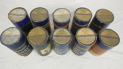 Edison Blue Amberol Record  -  Lot of 10 (2) - $3.00 per record