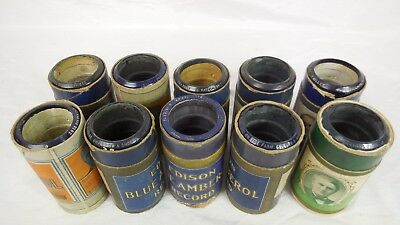 Edison Blue Amberol Record  -  Lot of 10 (6) - $2.50 per record