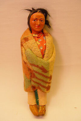 Skookum Bully Good American Indian Doll, Clean And Nice!