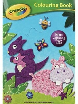 Crayola Colouring Book Magazine In The Wild Special Issue (NEW)
