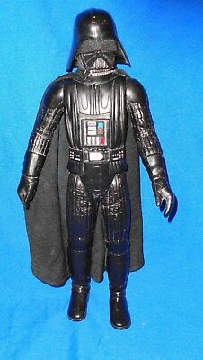 Vintage 1978 Star Wars Darth Vader 15 Inch Action Figure & Cape Nice Take a LOOK