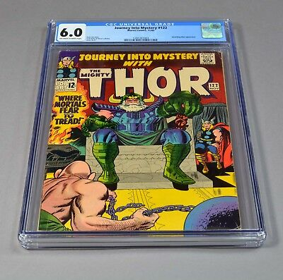 Journey Into Mystery with The Mighty Thor # 122 CGC slabbed and graded 6.0 FN!