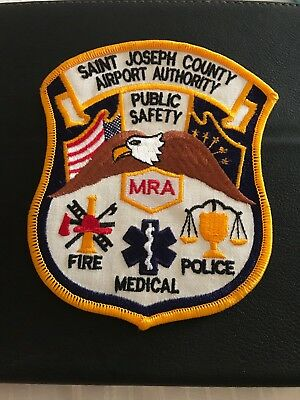 Saint Joseph Co. IN Indiana Airport Auth DPS Police Fire Medical Patch