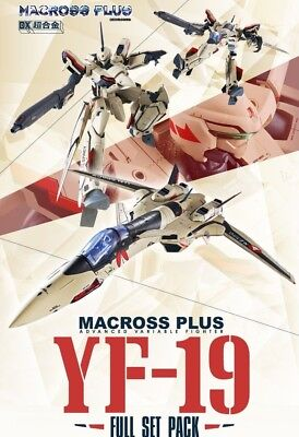 BANDAI DX Chogokin Macross Plus YF-19 Full Set Pack USA Seller