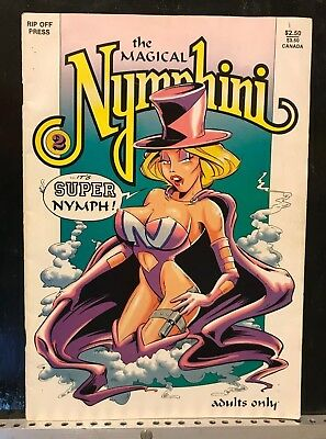 The Magical Nymphini #2 - Definitely Adults Only - 1991 Comic Book