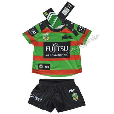 South Sydney Rabbitohs 2018 NRL Toddler Home Jersey Sizes 0-4 BNWT