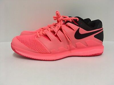 brand new 51c56 418eb Nike Air Zoom Vapor X HC Lava Glow Roger Federer Shoes Mens Size 11.5 AA8030 -