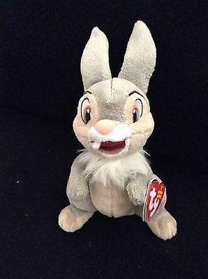 a3f476adaba Thumper From Disney Bambi Original Ty Beanie Baby ~ Soft Plush Toy ~ Ships  Free