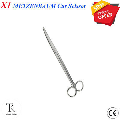 England Metezenbaun Metzenbaum Scissor CURVED Carbide Dental Surgical Instrument