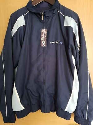 Mens Football Scotland Jacket vintage retro sixe XXL BNWT