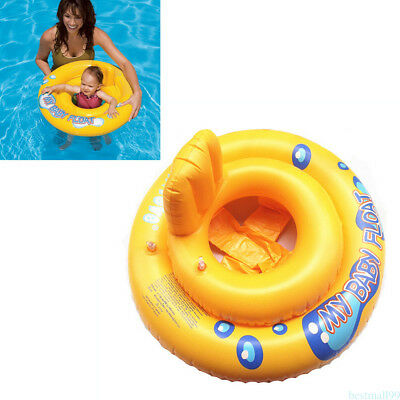 Double Air Bags Baby Inflatable Pool Water Swimming Ring Safety Toddler Aid ma99
