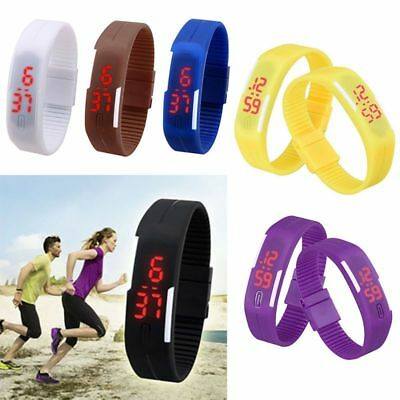 LCD Pedometer Wrist Watch Bracelet Sports Gym Calories Step Running Counter UK