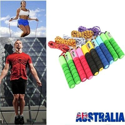 Adjustable Skipping Jump Rope Digital Counter Jumping Exercise For Kid/Adult AU