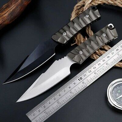 """8"""" Fixed Blade Knife Tactical Pocket Blade Open Survival Hunting EDC With Sheath"""