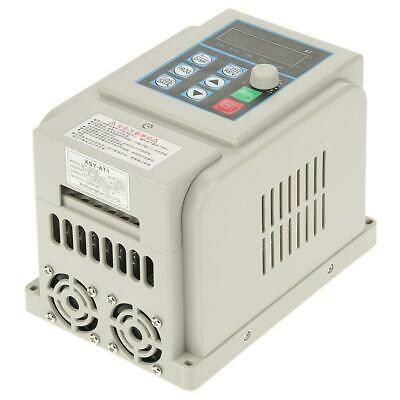 AC220V Single-phase Variable Frequency Drive Speed Controller 2.2kW Motor VFD rk