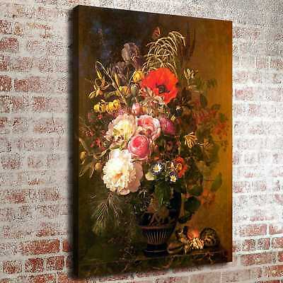 """Bright Flower and Vases Home Decor HD Canvas prints Picture art Painting 16""""x22"""""""