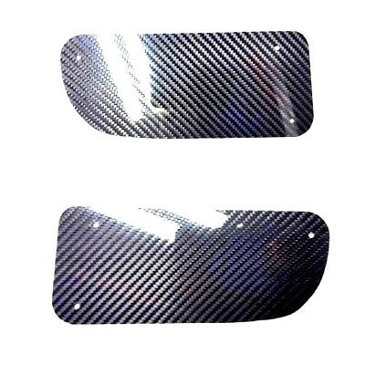 For 92-95 Honda Civic EG EG6 Front Bumper JDM Air Duct DELETE PANEL CARBON FIBER