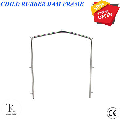 CHILD RUBBER DAM FRAME Small Professional-Dental-Rubber-Dam Endodontic Tools New