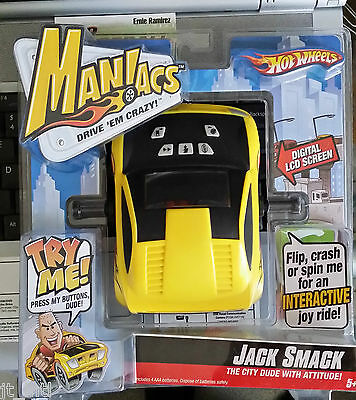 New Hot Wheels Maniacs Street Tuner JACK SMACK Digital Electronic Toy Game 2007
