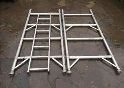 Boss Youngman 4 Rung 2.0m Aluminium Scaffold Tower Narrow Frames Inc VAT